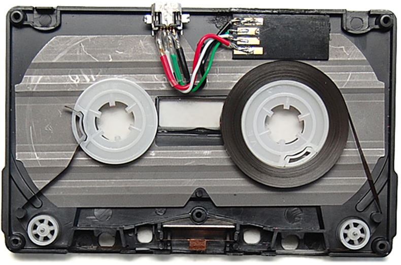 tape cassette with USB built in